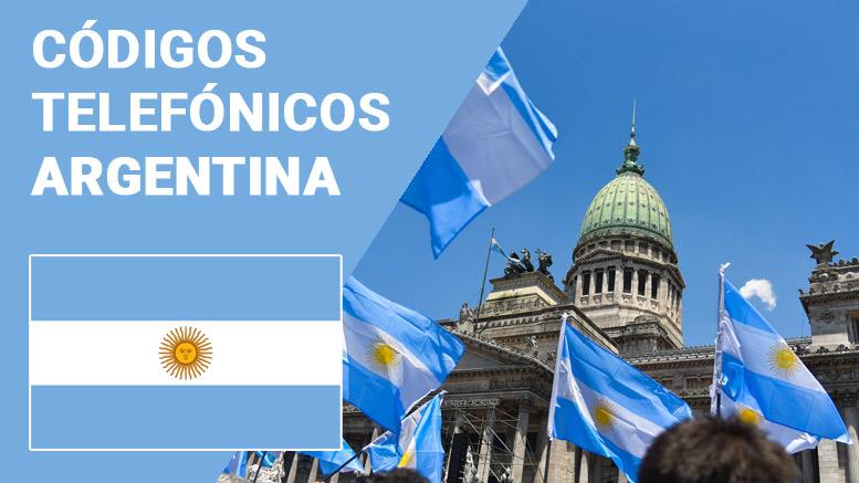 Argentina: prefijos telefónicos
