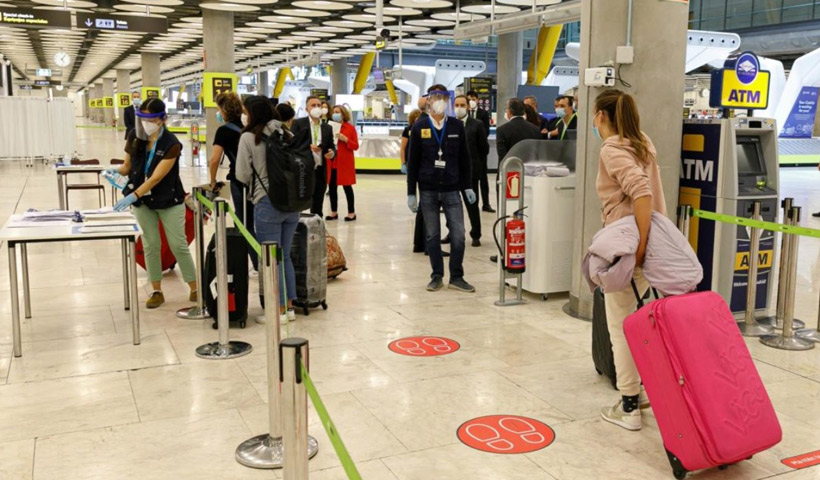 Restricciones de ingreso para viajeros internacionales