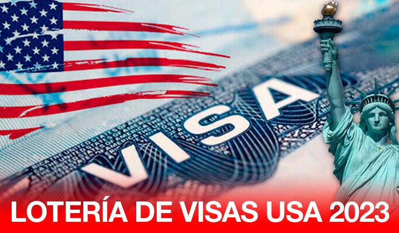 Programa de Lotería de Visas 2023 a USA